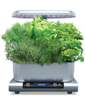 Aerogarden Harvest 6 Pod Smart Countertop Garden Black 640 x 480