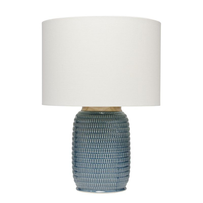 Raisa 24 Table Lamp Blue Ceramic Lamp Table Lamp Ceramic Table Lamps