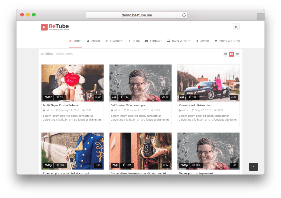 15 Best Wordpress Video Themes Like Youtube Video Sharing Sites Wordpress Video Theme Theme Wordpress