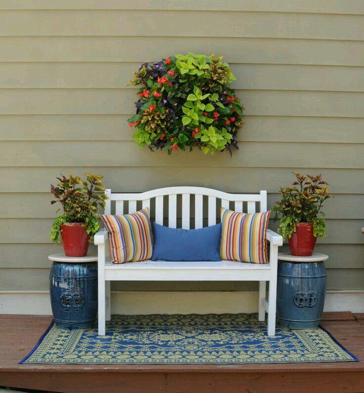 Sala de estar decoraci n con plantas terraza jardin sillon terraza y hogar - Hogar y jardin castellon ...
