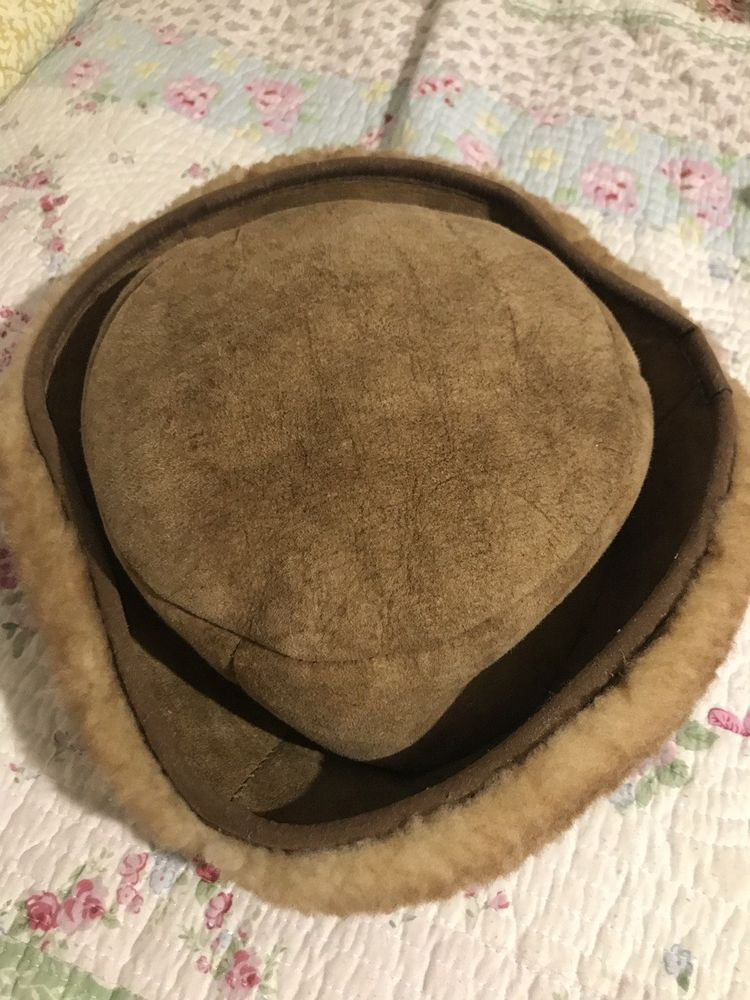 d0e462aef28 VTG Wooltique Shearling Sheepskin Ambassador Hat Large Tan Wool Sheep Skin   fashion  clothing  shoes  accessories  mensaccessories  hats (ebay link)