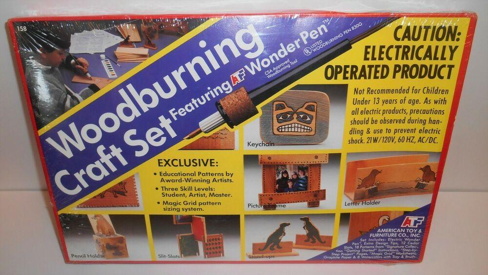 Woodburning Craft Set