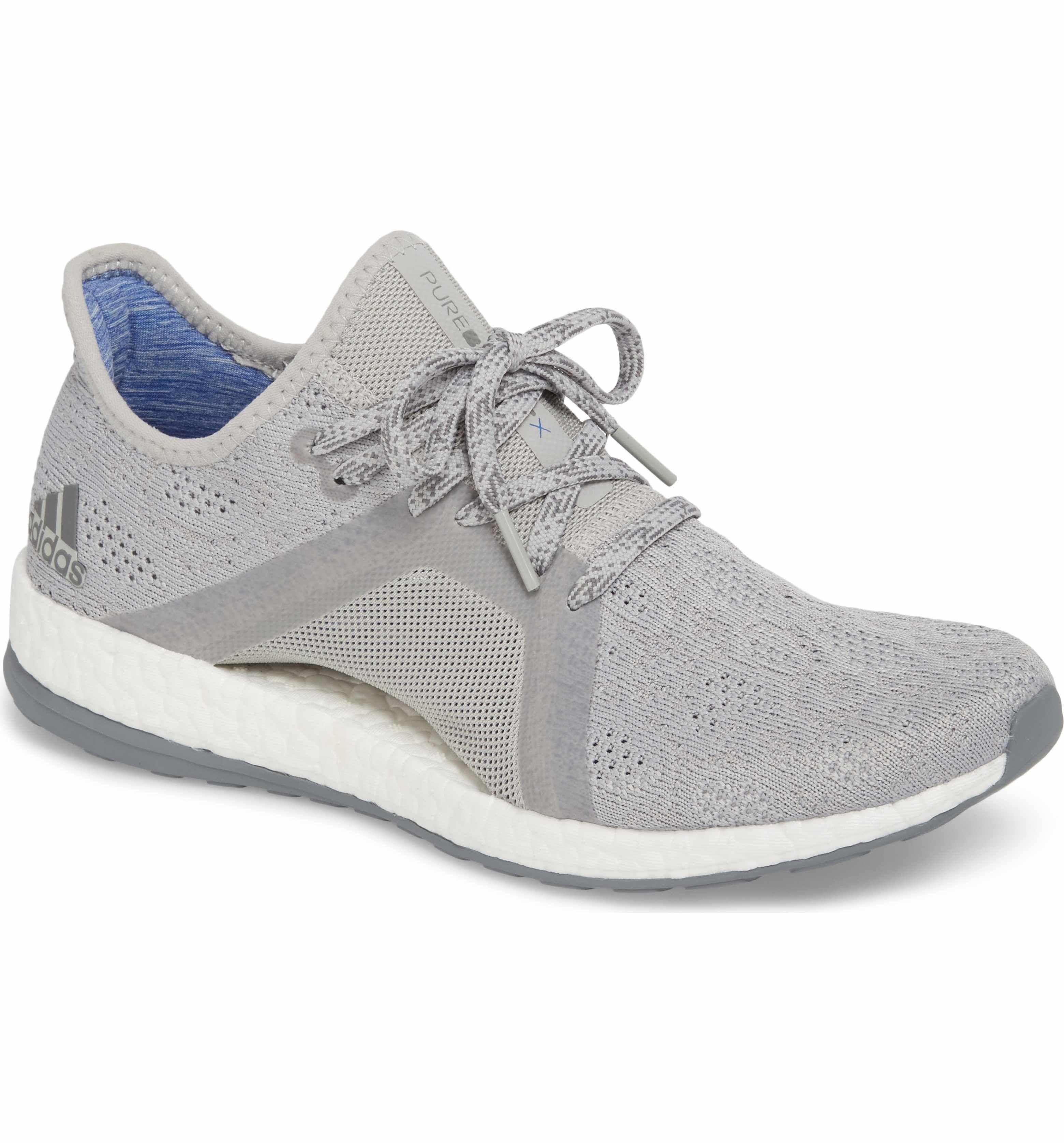 Main Image Adidas Pureboost X Element Knit Running Shoe Women Adidas Pure Boost Cross Training Shoes Womens Running Shoes