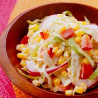 Chipotle Coleslaw-   I've made this several times for cookouts and parties. It's a zesty hit and leftovers are great on pulled pork/chicken.