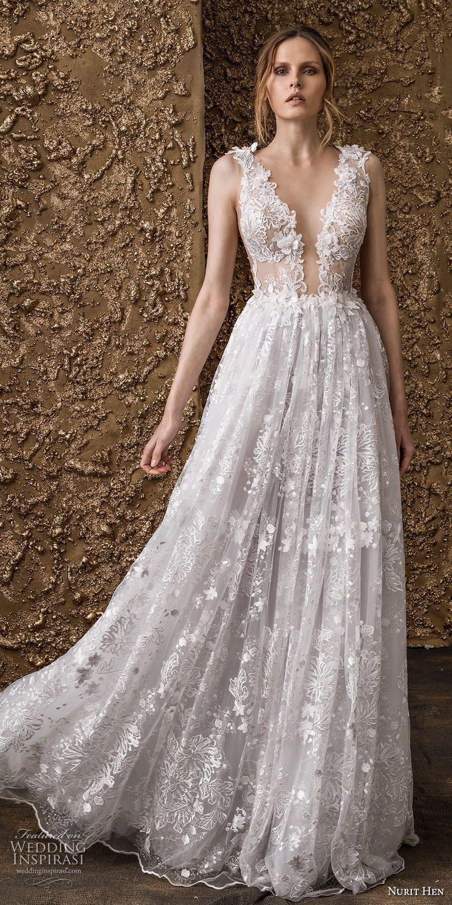 Nurit hen wedding dresses u ucgolden touchud bridal collection