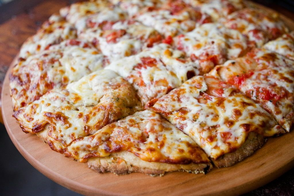 Pepperoni doubledough pizza at pizza house 1647 1647 w