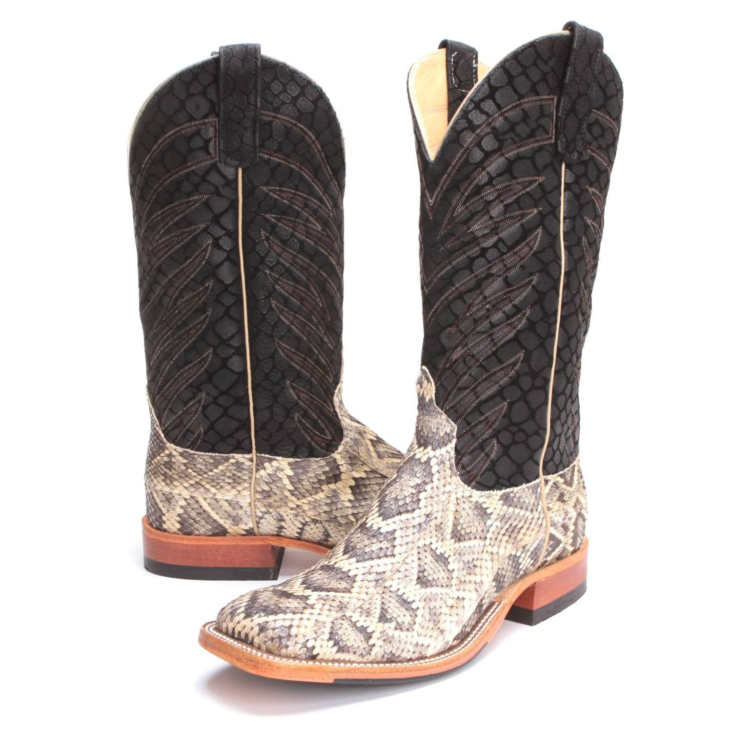 b4394de1764d6 PFIs BootDaddy Collection with Anderson Bean Mens Vertigo Rattlesnake  Cowboy Boots