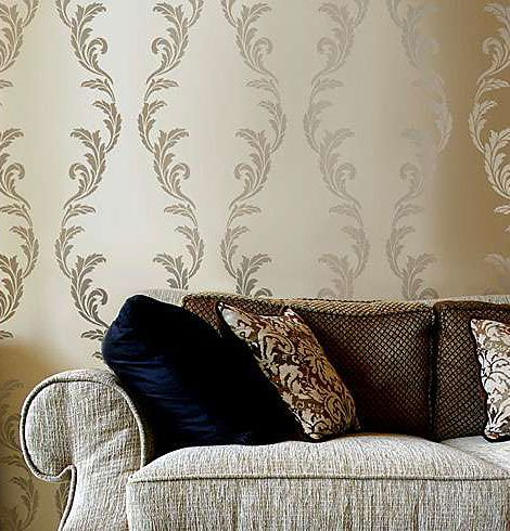 moroccan painting technique walls | Allover Wall Stencils at great prices. Reusable stencils for wall ... #Walls
