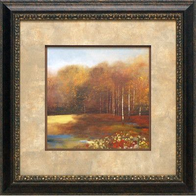 North American Art 'Garden Dreams II' by Allison Pearce Framed Painting Print
