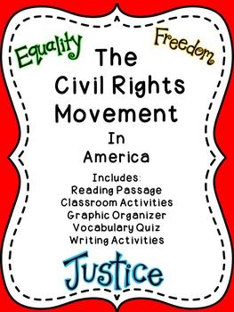Civil Rights Movement in America | TpT Social Studies