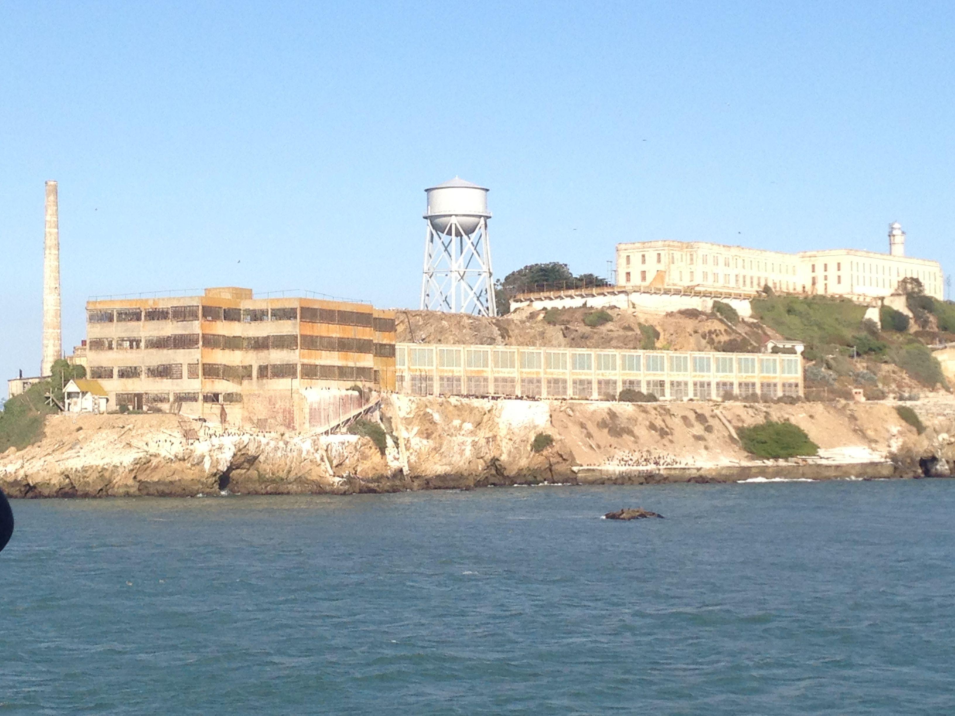 Alcatraz Island San Francisco Ca Adventure Awaits Skyline