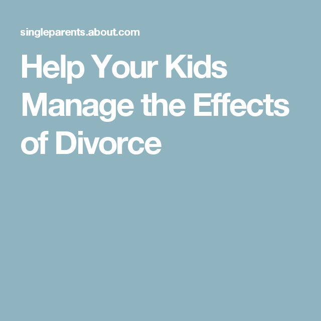 the physiological social and economic effects of divorces on children Children will obviously feel the effects of their parents' divorce here is some insight as to what those effects may be a divorcing parent, in addition to all his or her problems, must support the child in what may be the most difficult experience in his or her young life.