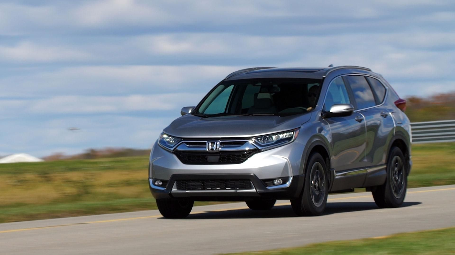 2017 Honda CR V Is Bigger And Better Equipped