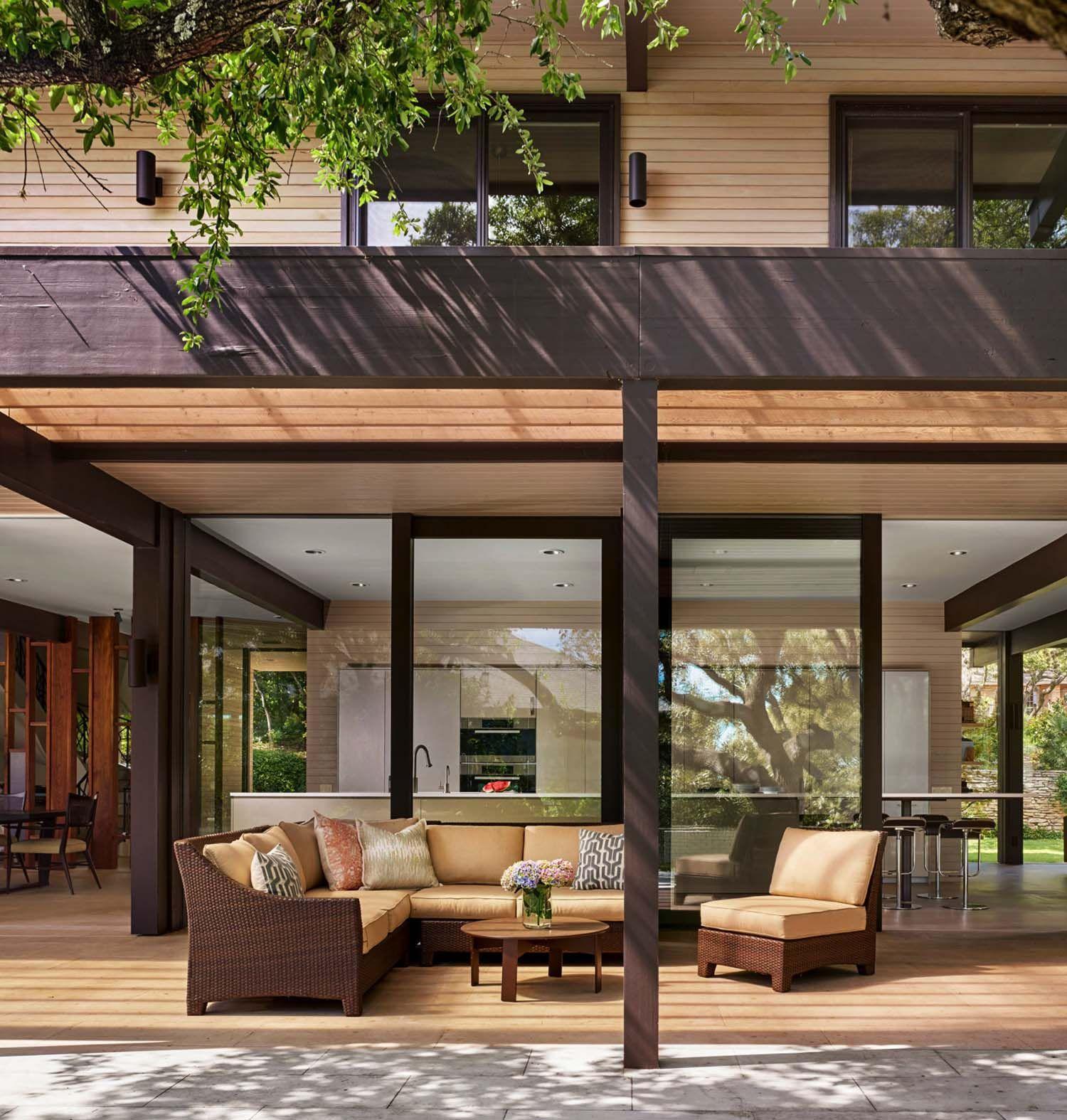 Midcentury modern renovation creates inspired living in austin