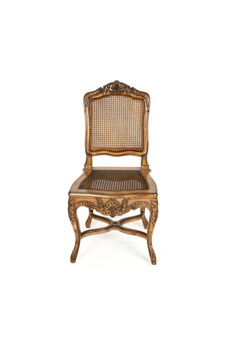 The Regency Louis Xv Dining Chair Is Shown In Cherry Wood With A  # Muebles Leblon Cordoba
