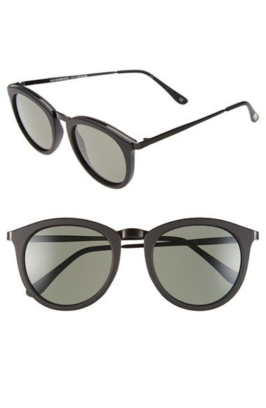 b92b839ea23 Le Specs  No Smirking  50mm Round Sunglasses available at  Nordstrom ...