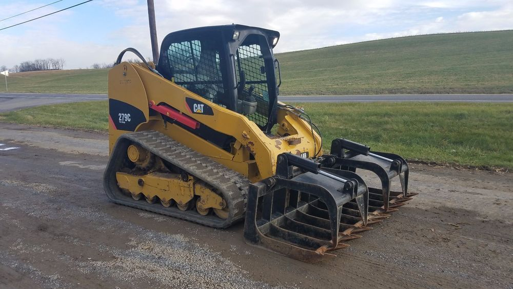 2011 Caterpillar 279C Compact Track Skid Steer Loader