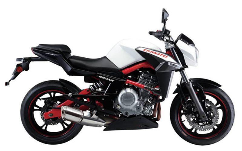 CF moto has Liquid-cooled dohc 8-valve parallel-twin four-stroke engine with 180-degree crankshaft, chain camshaft drive and single gear-driven counterbalancer making it one enjoyable ride