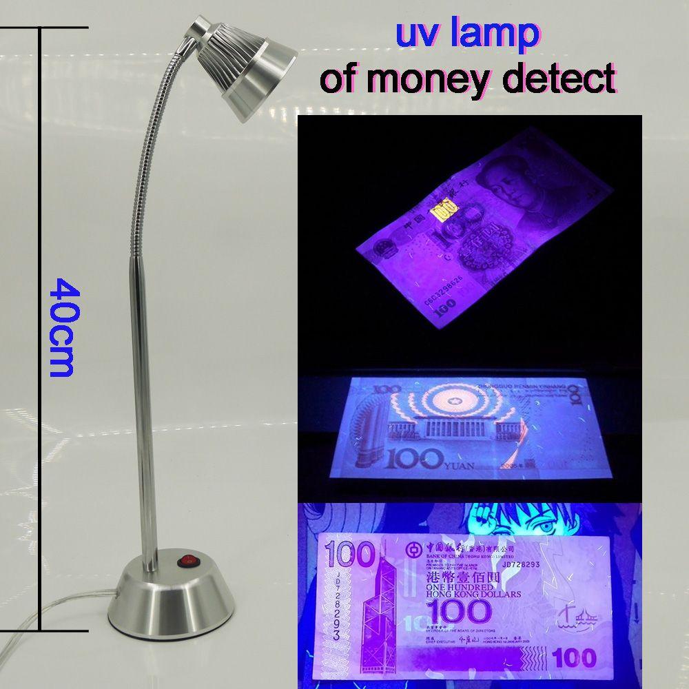 Uv Lamp Of Money Detect The Light Of Money Cash Checker Detection