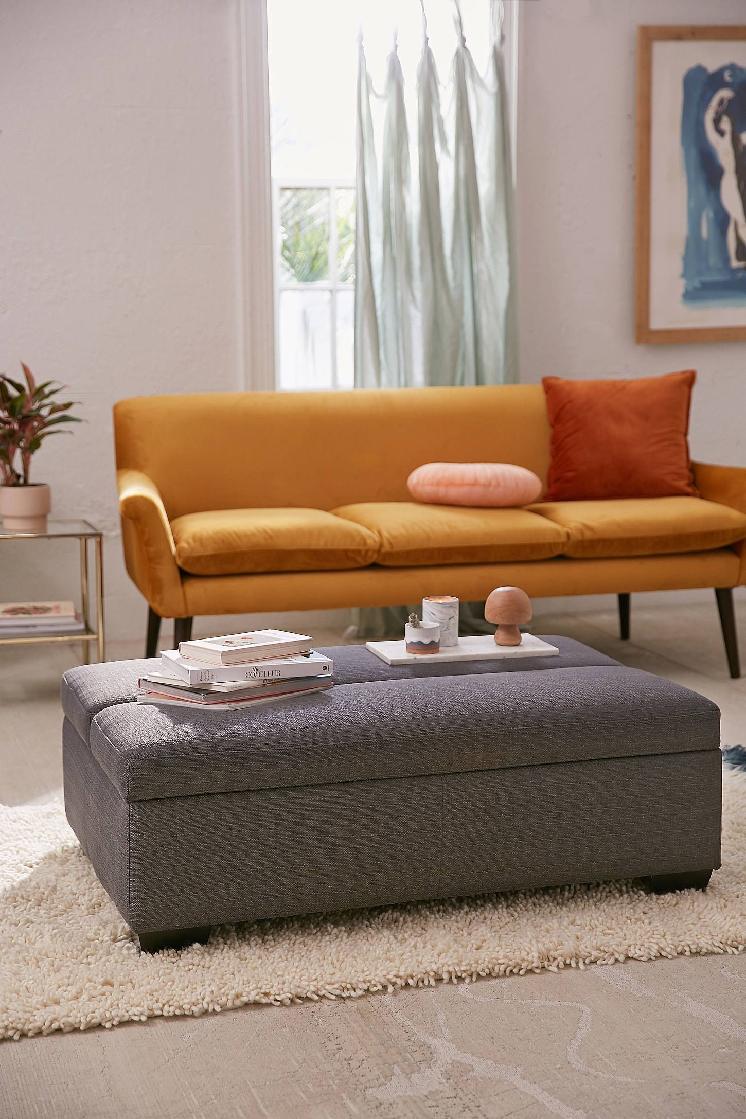 sleeper ottoman ottomans playrooms and apartments rh pinterest com