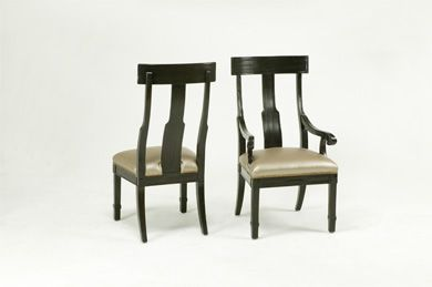 Bausman Co 9804 Los Angeles Collection Side Chair Side