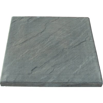 Expocrete 24 In X 24 In Slate Finish Square Patio Slab