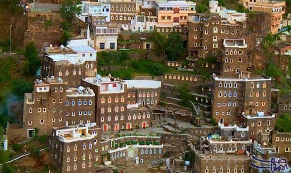 قرية رجال ألمع السعودية التاريخية تحت عناية اليونيسكو تندرج قرية رجال ألمع الواقعة جنوب غربي المملكة العربية السعودية تحت House Styles Mansions Photo