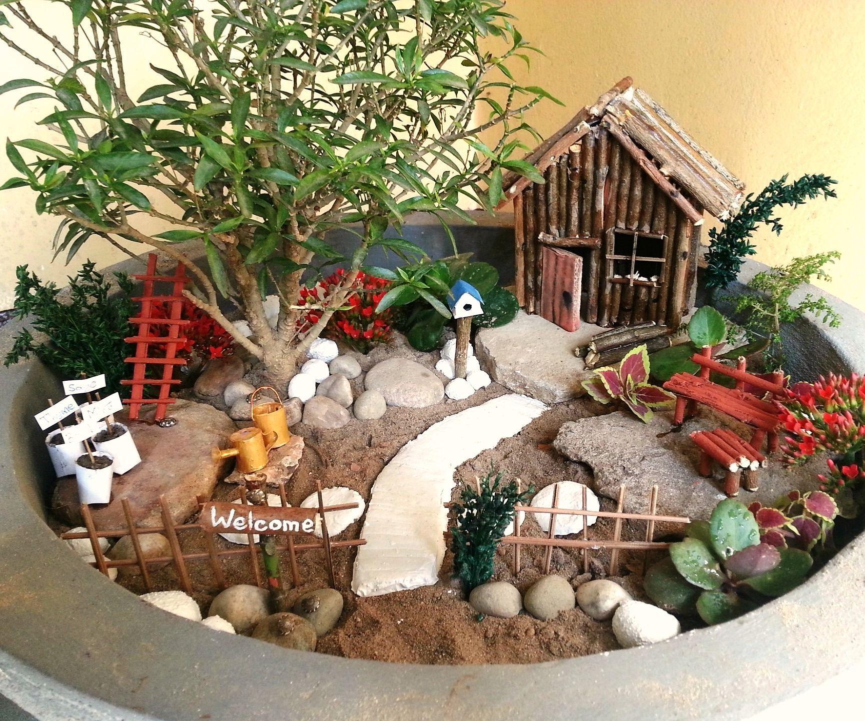 Diy Miniature Garden Accessories Mini Fairy Garden 640 x 480