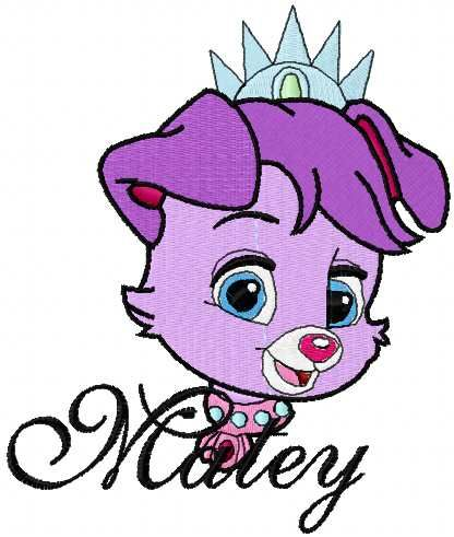 Matey embroidery design 2. Machine embroidery design. www.embroideres.com