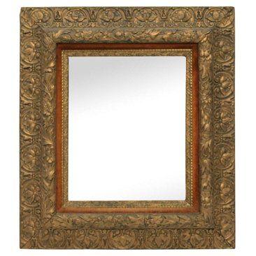 One Kings Lane! $935 Giltwood Mirror