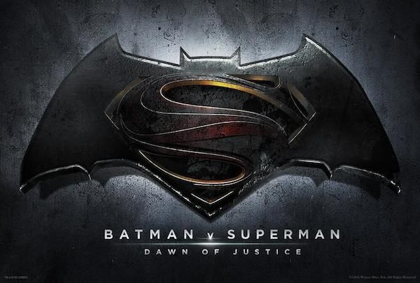 Batman v Superman - Dawn of Justice New logo