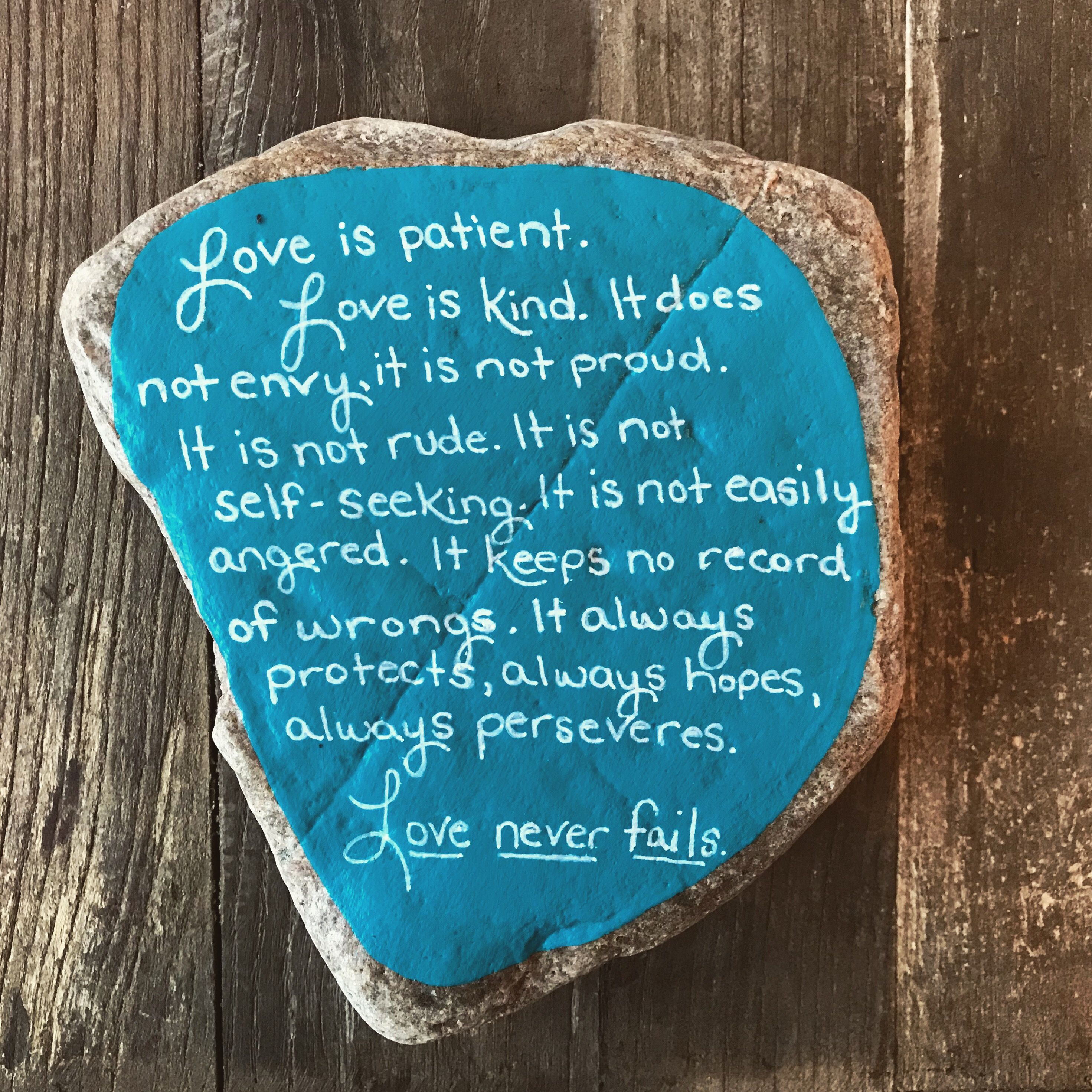 What Is The Bible Verse About Love Is Patient