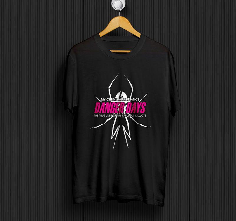 MCRX My Chemical Romance Thanks For The Memories T Shirt Black Cotton Men S-6XL