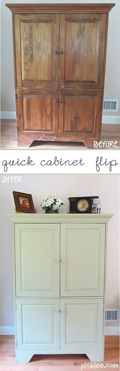 The Quick Cabinet Flip {your pick} | Picklee | Upcycled Furniture ...
