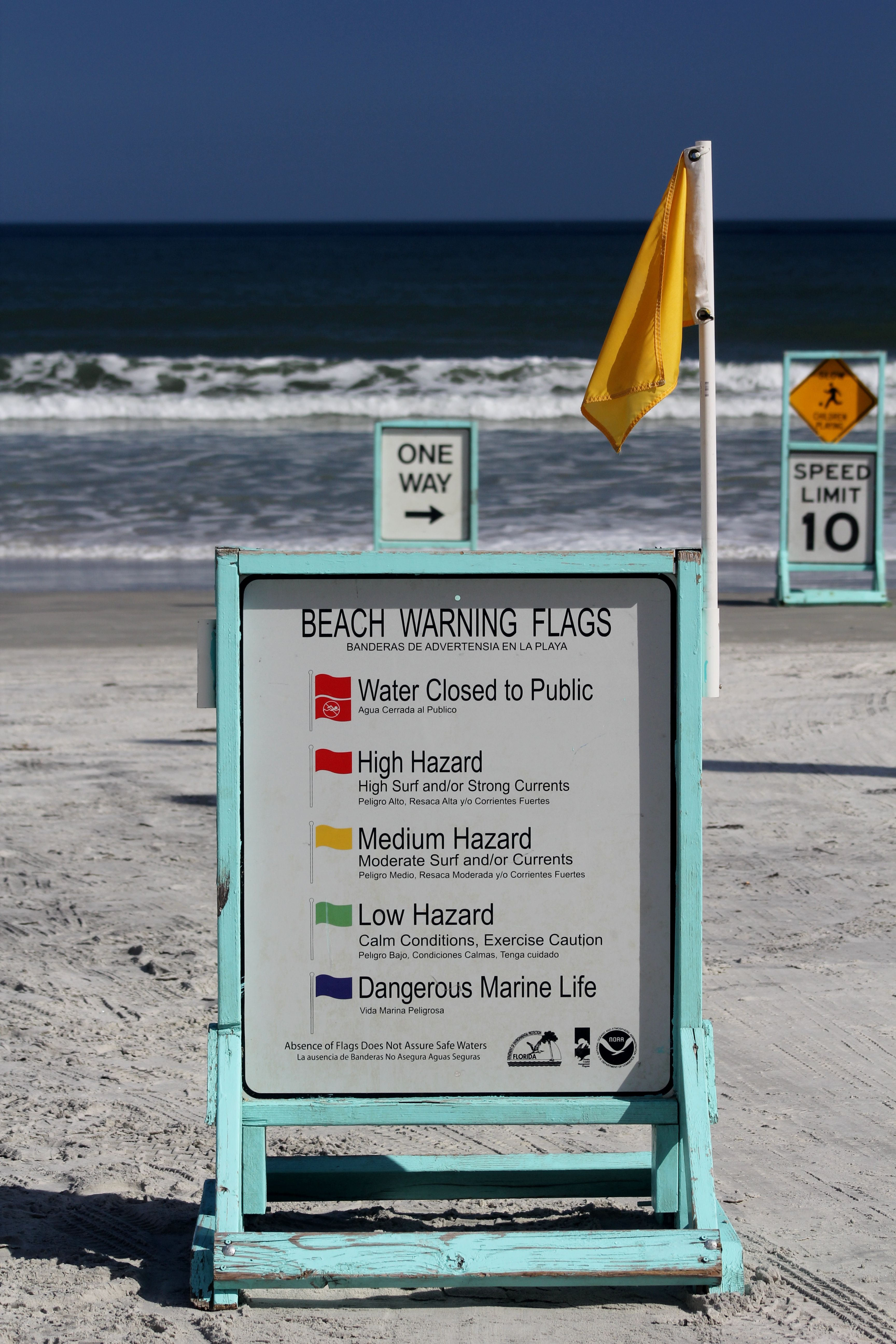 Daytona Beach Warning Flags Daytona Beach Beach Surfing
