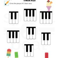 2 Black Keys 5905 Piano Chords Chart Music Worksheets Key