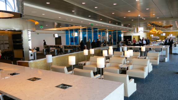 United S Big Bright New Club At London Heathrow Terminal 2 Click On Photo For The Unit Lounge London Photos