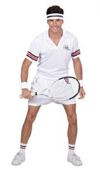 Reproductor De Tenis Para Hombre Traje de Disfraz para Deporte Fancy Dress