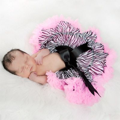 Pink Leopard Print Baby Shower Decorations | Zebra Pink Ruffles Newborn  Pettiskirt