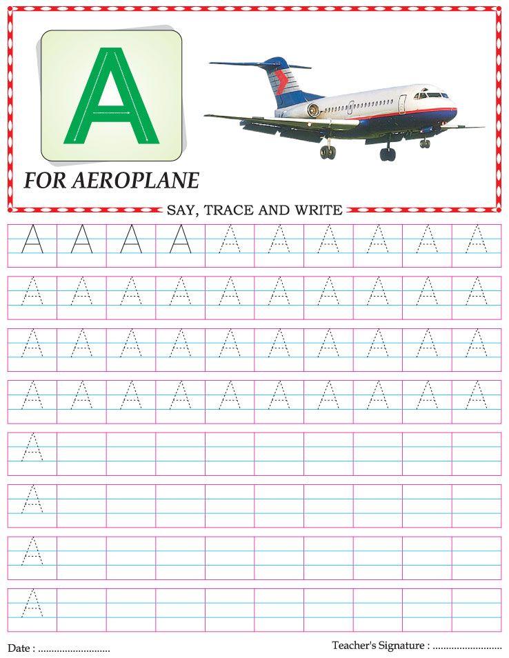 Capital letter writing practice worksheet alphabet U – Letter Practice Worksheets