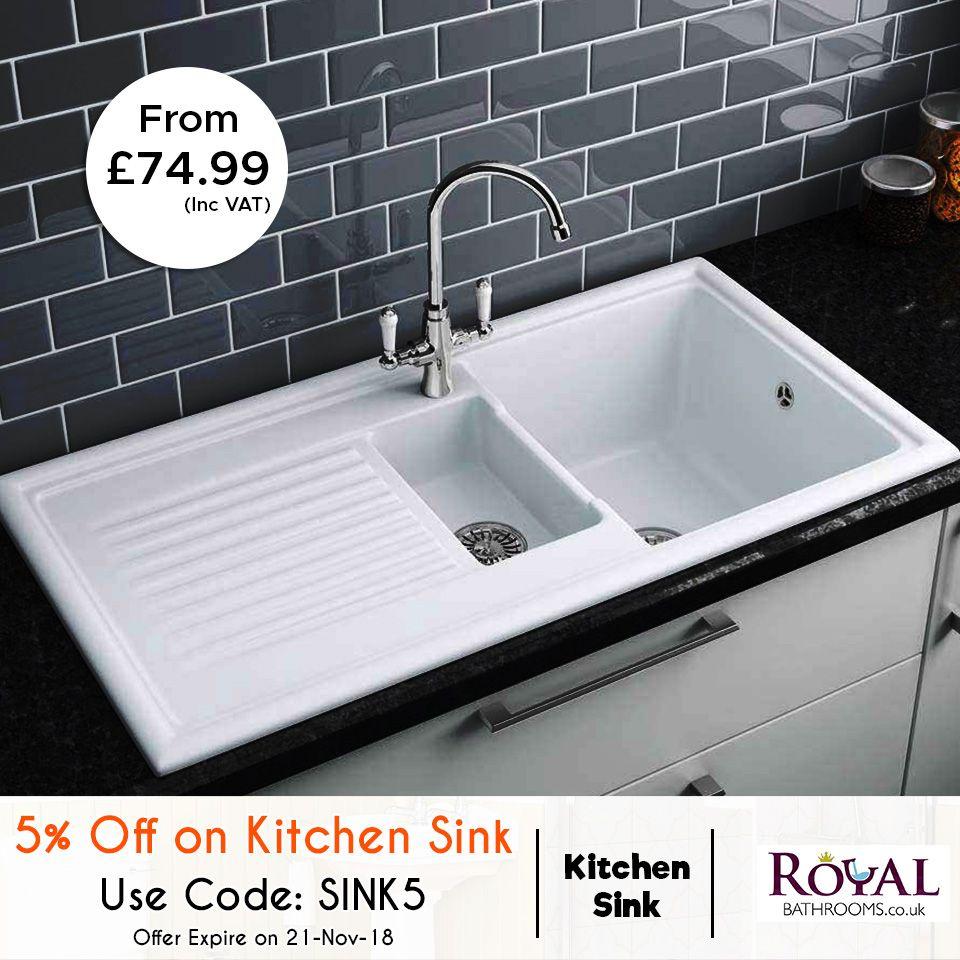 Extra 5 Off On Kitchen Sink Get A Stunning Discount On Kitchen