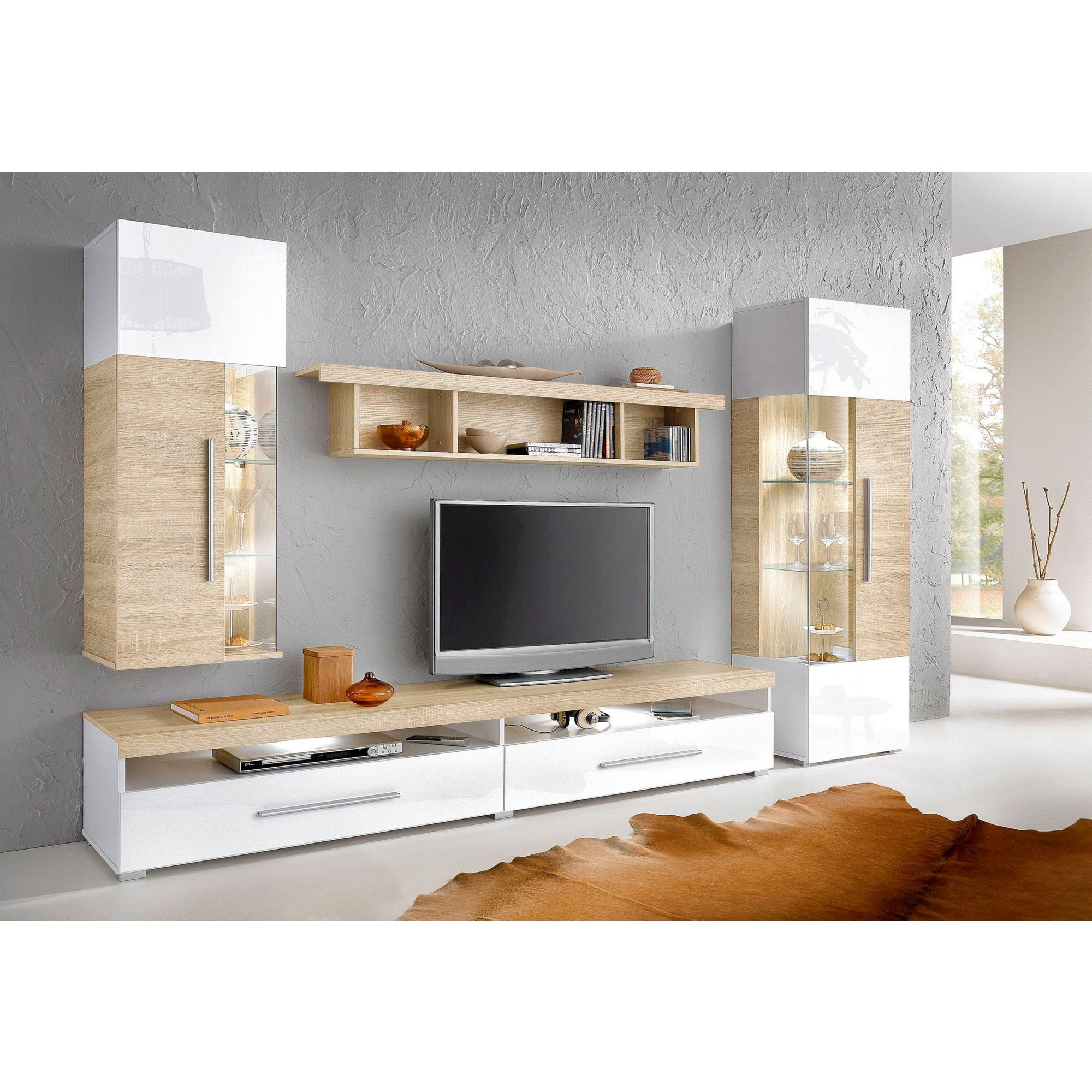 Promo Meuble Tv Meuble Tv Composition Murale Blanc Meuble Tv Living Xnn8
