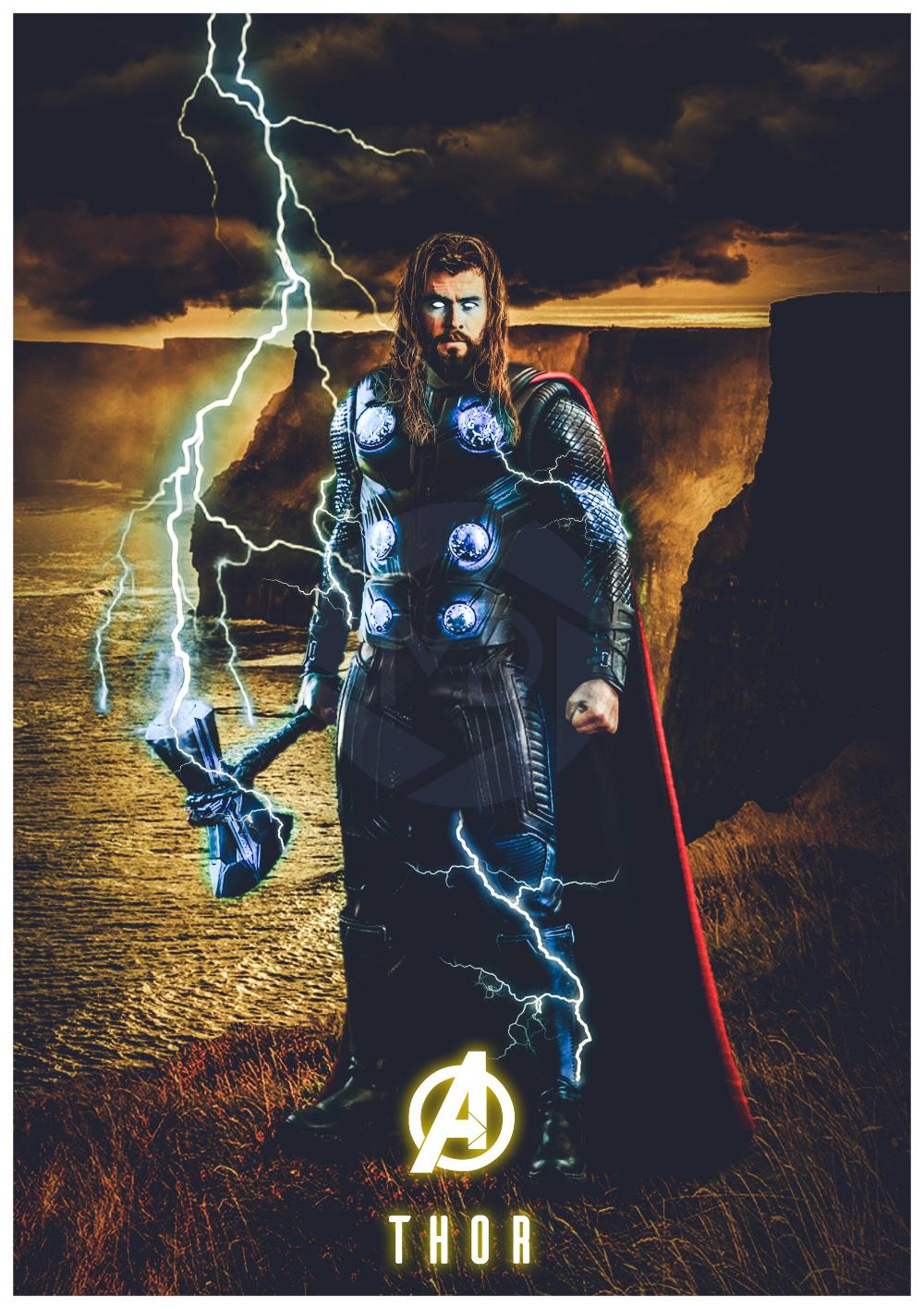 ArtStation Avengers Endgame Thor, MDesign Digital