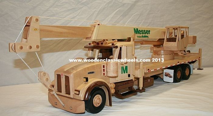 Wooden Construction Toys : Demotte indiana promotional retirement ccorporate