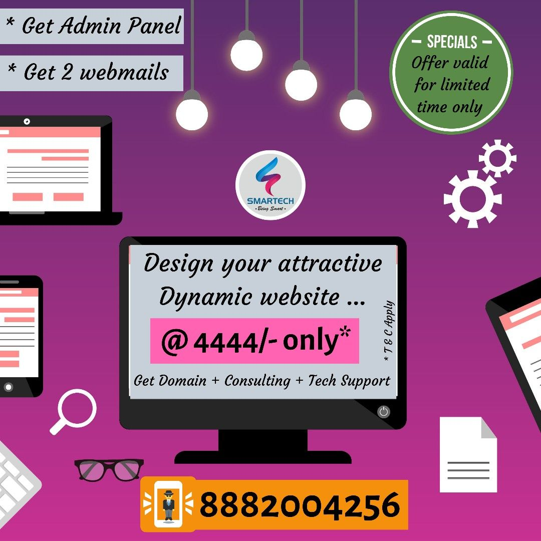 Are you looking for a Dynamic Website for your Company