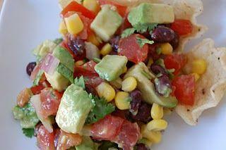 Refreshing summer salsa/dip...