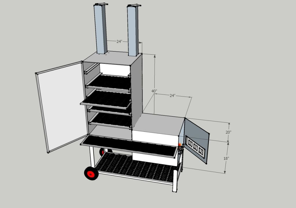 Vertical offset smoker builld diy pinterest offset smoker and vertical offset smoker builld malvernweather Choice Image