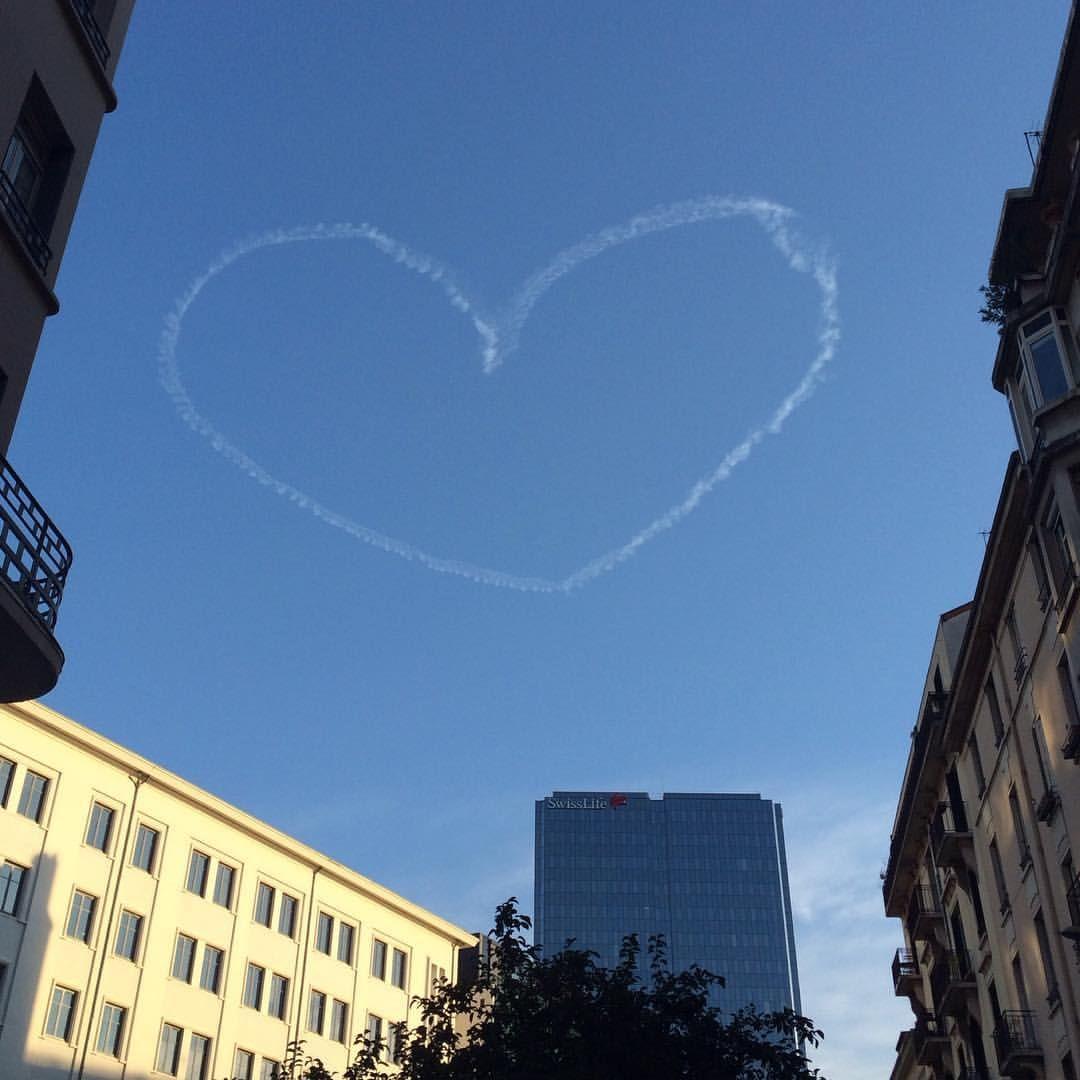 Ce soir le ciel est amoureux ❤️ #Lyon #monlyon