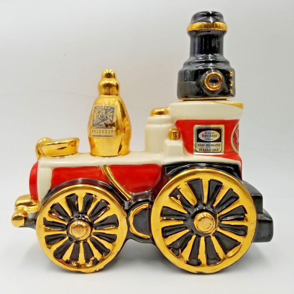 Details about 1971 Ezra Brooks Fire Engine Vintage Bourbon