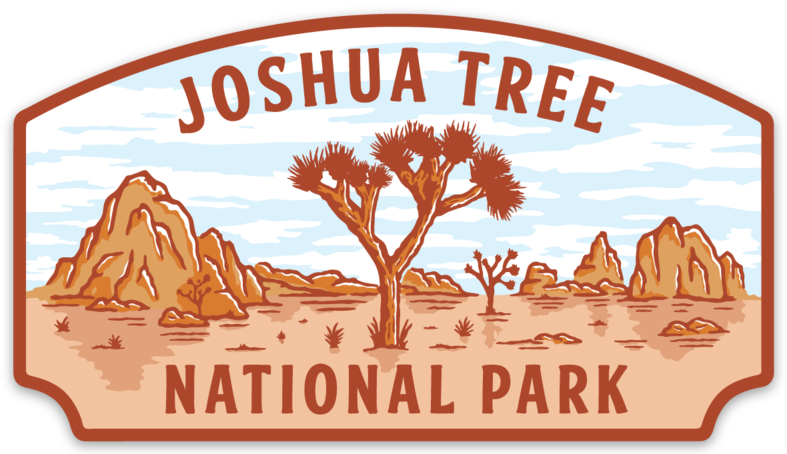 Joshua Tree National Park Sticker Joshua Tree National Park National Parks Joshua Tree